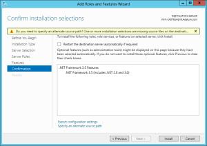 Alternate source path for .NET 3.5 Framework