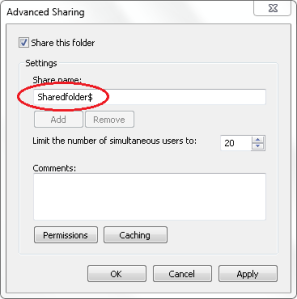 Advanced Sharing