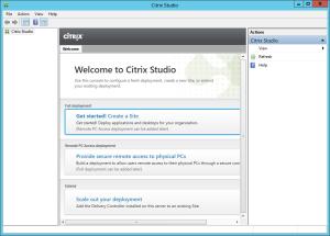 Welcome to Citrix XenDesktop