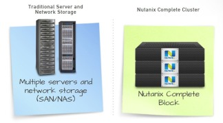 Nutanix traditional vs block